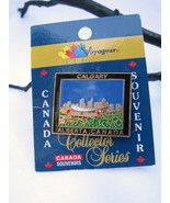 Calgary Alberta Souvenir Collector Pin - $2.00