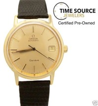Vintage Omega Geneve Automatic Gold Filled 35mm Circa 1970s Watch - $866.75