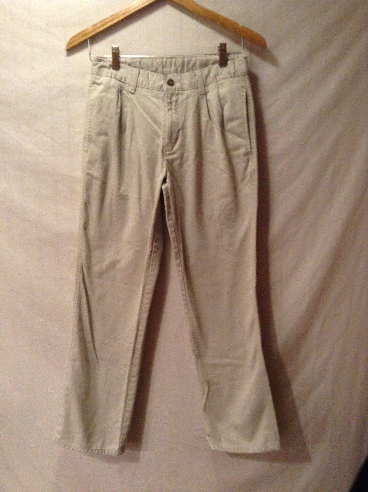 Ladies CHAPS Casual White Pants Sz 16R