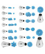 Wilton Open Star Decorating Tips New Assorted Sizes Cake Icing Decoration Tip - $1.31 - $3.75
