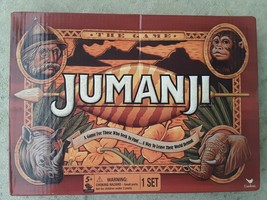 Jumanji Board Game by Cardinal Red Adventure 2 players Complete Set - $10.88