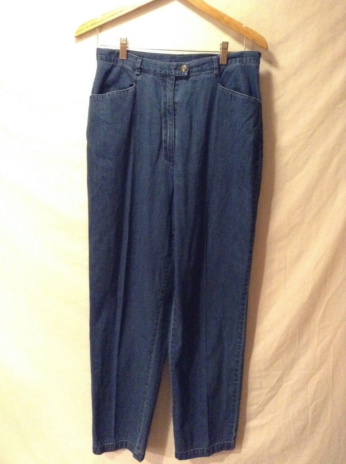 Ladies Charter Club Blue Jeans Sz 12