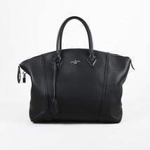 """Louis Vuitton Black Leather """"Cachemire Soft Lockit MM"""" Bag - $2,605.00"""
