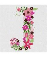 pepita The Letter J Flowering Needlepoint Kit - $80.00