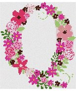 pepita The Letter Q Flowering (Large) Needlepoint Kit - $150.00
