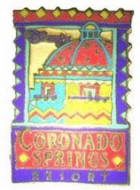 Disney WDW Coronado Springs Resort Pre 2000 Authentic WDW Disney pin - $24.99