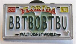 BBTBOBTBU License Plate CM Only Authentic Disney Cast Lanyard Never Sold... - $39.99