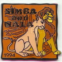 Simba and Nala dated 1994 Lion King Authentic DISNEY Pin/Pins - $19.99
