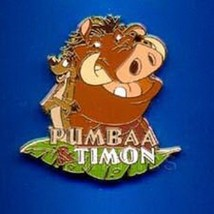 Pumbaa and Timon Authentic Lion King Disney pin/pins - $14.90