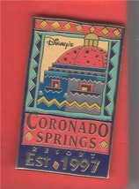Coronado Springs Resort  Est  1997 Authentic WDW Disney pin - $16.98