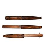 BROWN Traditional Kung Fu Wing Chun Hardwood Wooden Dummy Mook Jong 3 Ar... - $129.95