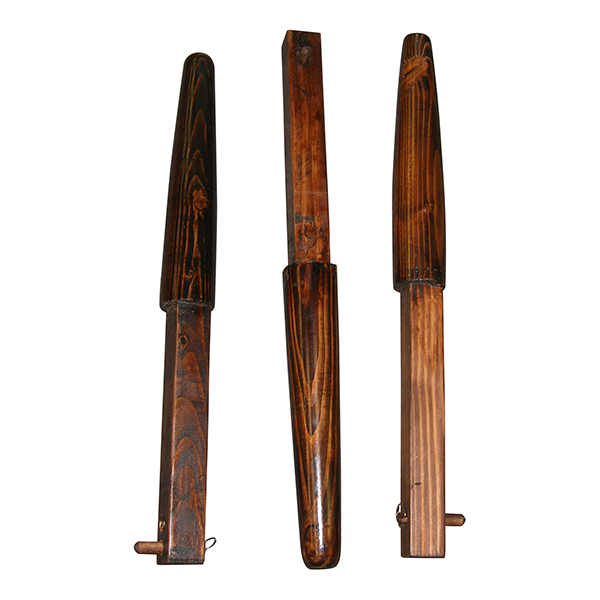 BROWN Traditional Kung Fu Wing Chun Hardwood Wooden Dummy Mook Jong 3 Arm Set