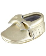 Unique Baby Leather Bow Moccasins Anti-Slip Tassels Prewalker Toddler Sh... - $16.99