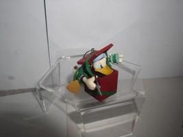 Donald Duck spool and thread ornament present by Katrina Bricker 1997 - $17.98
