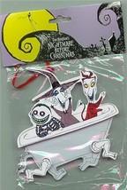 Nightmare Before Christmas Lock Shock & Barrel (LSB) in tub Wood Ornament - $24.99