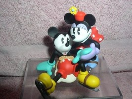 Mickey and Minnie Disney  ornament New Pair of ... - $25.99