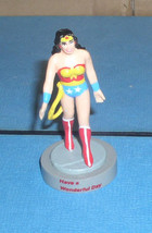 DC Comics 1989  Wonder Woman PVC  figurine cake topper that can be used ... - $24.99