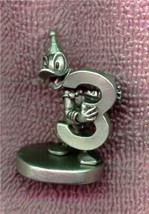 Donald Duck Numbered 3 Great  Disney  Pewter  Figurine - $29.99