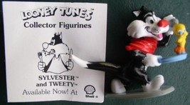 Warner Bros Loony Tunes Sylvester and Tweety Collector Figurine Cake Topper - $12.99