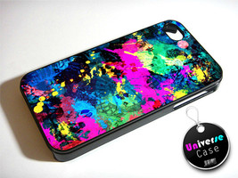 Abstract Oil Painting on Canvas iPhone 4S Case Hard Plastic - $14.85