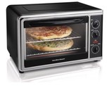 Countertop Hamilton Beach Convection Oven 1500W Bake Broil 2 Levels Compact