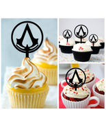 Ca293 cupcake toppers Assassin's Creed Package : 10 pcs - $10.00