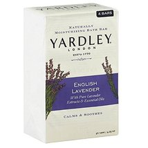 Yardley London Bar Soap - English Lavender - 4.25 oz - 4 ct - $14.75