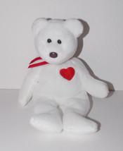 Ty Beanie Baby Valentino Plush 9in Teddy Bear Stuffed Animal Retired Tag... - $9.99