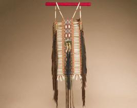 NATIVE AMERICAN HANDMADE BONE Warrior Breastpla... - $499.00