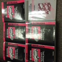 2008 Toyota Sequoia Service Repair Shop Workshop Manual Set Factory W Ewd - $989.95