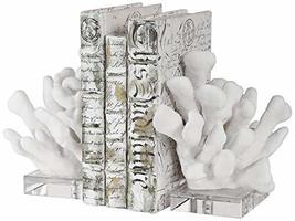 Uttermost Charbel White Coral Bookends Set of 2 - $143.00