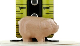 Hagen Renaker Miniature Farm Pig Pink Brother Ceramic Figurine image 2