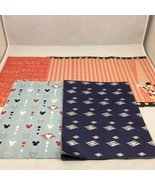 Disney Wrapping Paper Scrapbook Paper Mickey Mouse Ears Lot - $17.77