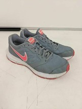Nike Womens Downshifter 6 Running Shoes Gray Pink 684765-004 Low Top Lac... - $16.82