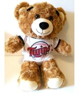 "Minnesota Twins 17"" Plush Teddy Bear Build A Bear MLB Baseball Collectible - $29.99"
