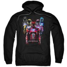 Power Rangers - Team Of Rangers Adult Pull Over Hoodie Officially Licensed Appar - $34.99+