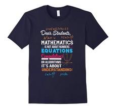 New Tee -  T-Shirt For Math Teacher. Gift Ideas For Parents From Son. Men - $19.95+