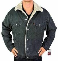 Levi's Men's Classic Corduroy Sherpa Fleece Lined Trucker Jacket 705203546 Large image 1
