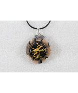 Elegant Handmade Cabochon & Premo Clay Pendant Necklace+ Cord & Extensio... - $2.92