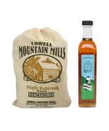 Maple Syrup and Pancake Mix  -  100% Pure Vermont Maple Syrup - $22.20