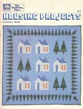 Quilt Pattern Book Housing Projects Home N J Martin That Patchwork Place B77 - $12.87