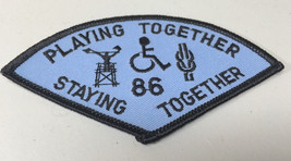 VTG BSA Boy Scouts St. Louis Area Gravois 1986 Playing Together Patch - $7.31