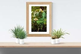 "The Day Dream - Dante Gabriel Rossetti- Art Print - 13"" x 19"" - Custom Sizes Ava - $25.00"