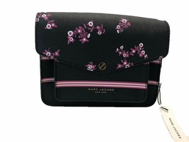 Marc Jacobs Mini Messenger Crossbody Bag (Black / Multi) M0011970 - $93.56