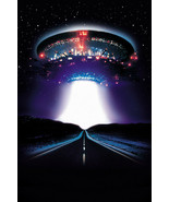 CLOSE ENCOUNTERS OF THE THIRD KIND ALIEN UFO MOTHERSHIP OVER HIGHWAY POSTER - $29.00