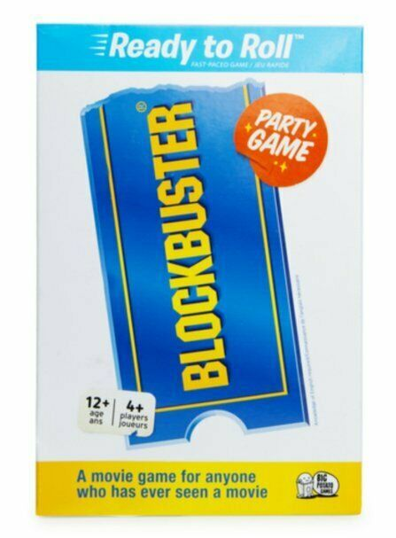 Primary image for NEW SEALED Blockbuster Video Ready to Roll Party Game by Big Potato