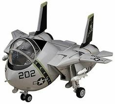 Hasegawa Egg Plane US Navy F-14 Tomcat non-scale plastic model TH2 - $21.33