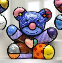 Romero Britto Joy Bear Design Figurine Rare Collectible Numbered XXXX/4000