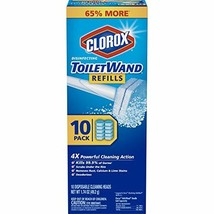 Clorox ToiletWand Disinfecting Refills, Disposable Wand Heads - 10 Count - $11.09