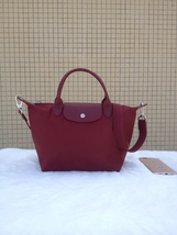 Longchamp Le Pliage Medium Wine Red Handbag Neo Shoulder Strap 1512578009 - $79.99